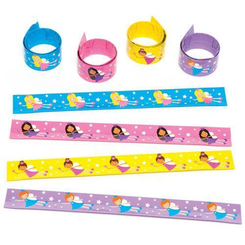 Mitgebsel: Schnapparmband Prinzessin, 4er Pack