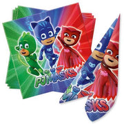 Party Deko Set Basic PJ Mask, für 8 Kids, 36-tlg.