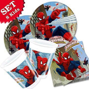 Party Set Basic Spiderman, 8 Kinder, 36-teilig