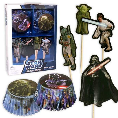Muffin-Set, Star Wars Galaxy, 48-tlg