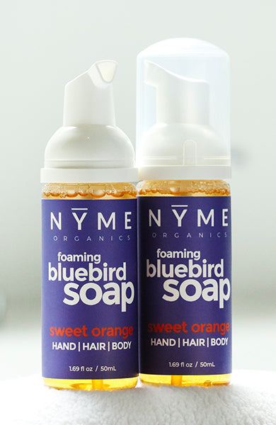 Foaming Bluebird Soap