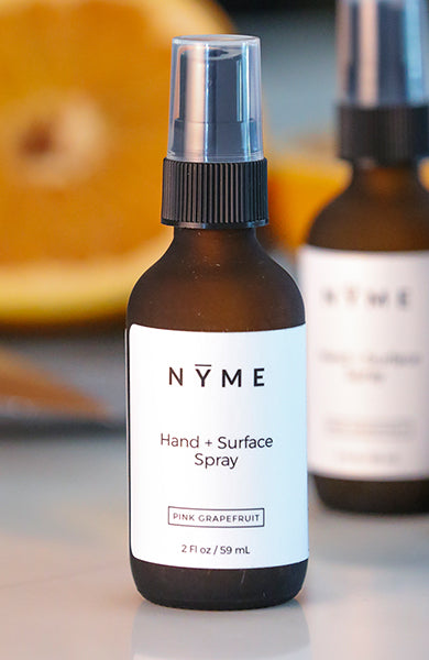 Hand + Surface Spray: Pink Grapefruit