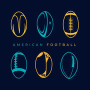 American Football Raglan T-Shirt