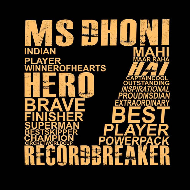 DHONI Number 7 T-Shirt