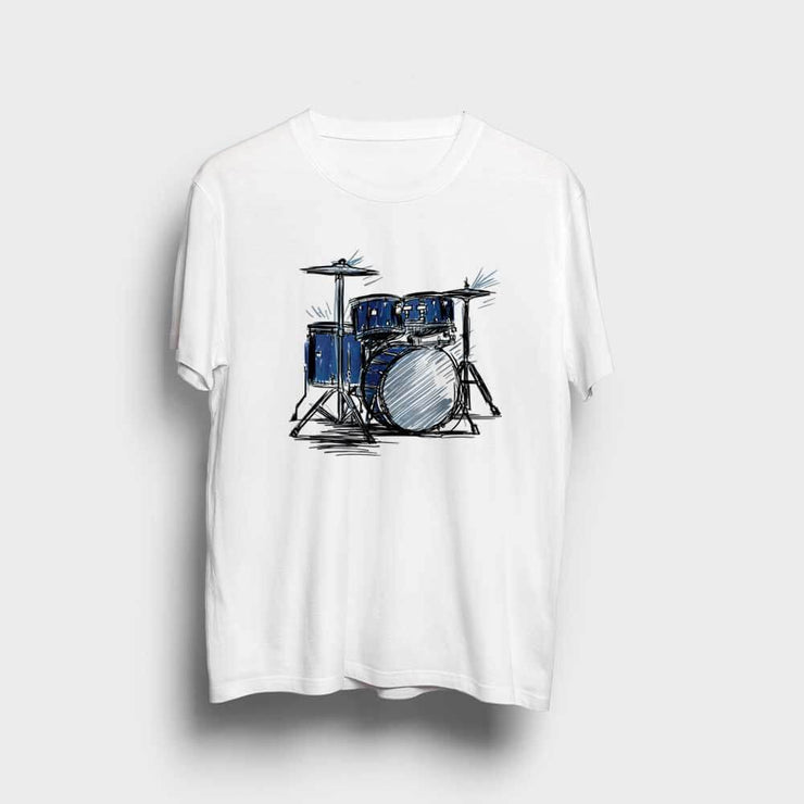 Drum Kit Sketch T-Shirt