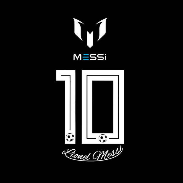 Lionel Messi Number 10 T-Shirt