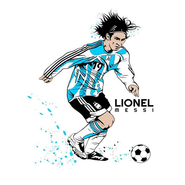 Lionel Messi Run T-Shirt