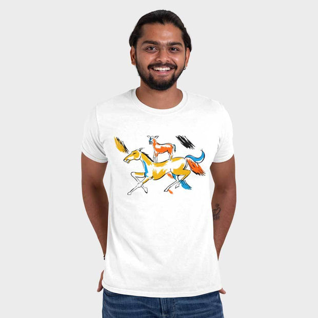 Majnu Bhai ki Painting T-Shirt