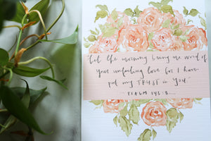 Bring me word encouragement card