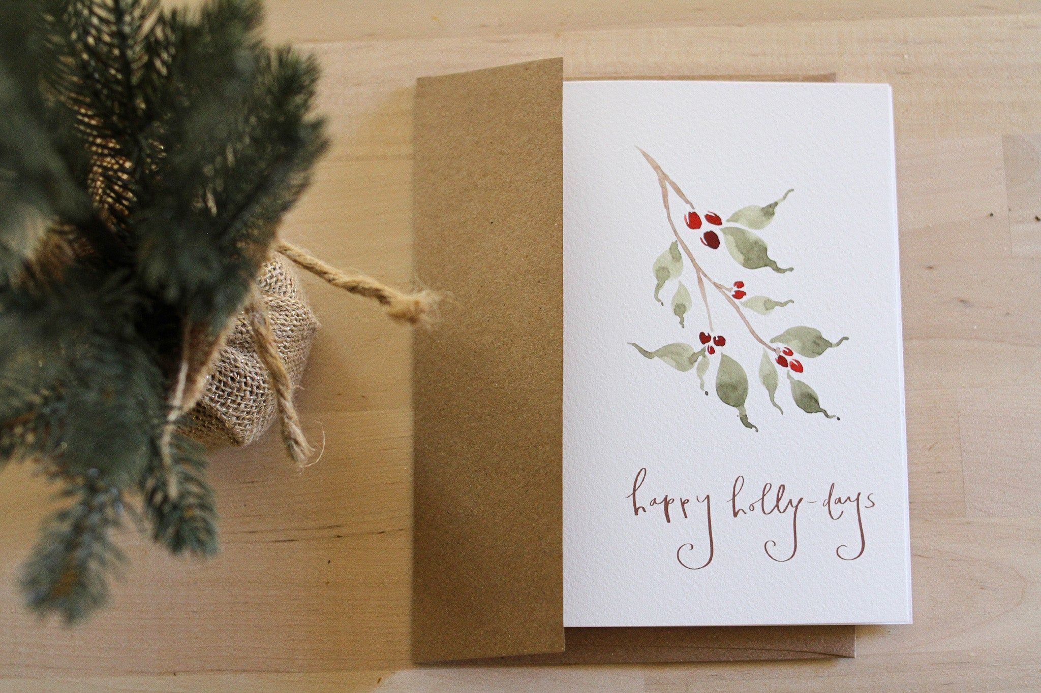Minimalist Holiday Card Bundle