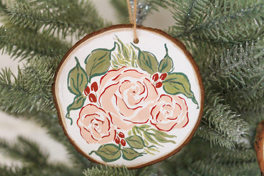 Christmas Blooms Ornament