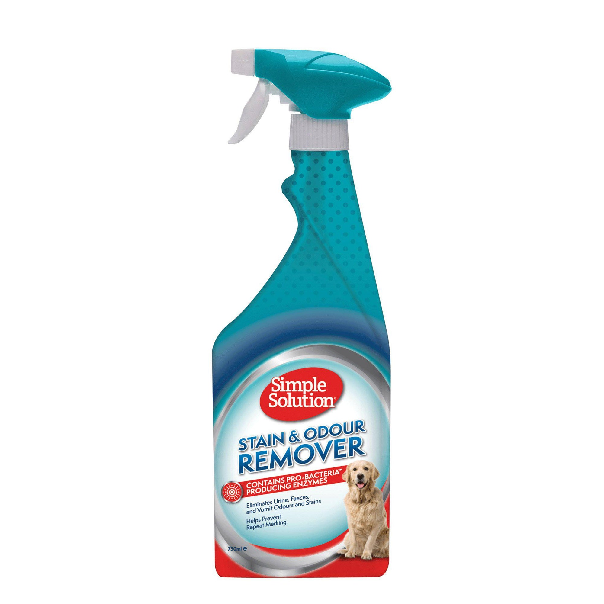 Simple Solution Dog Stain & Odour Remover 750ml - ComfyPet Products