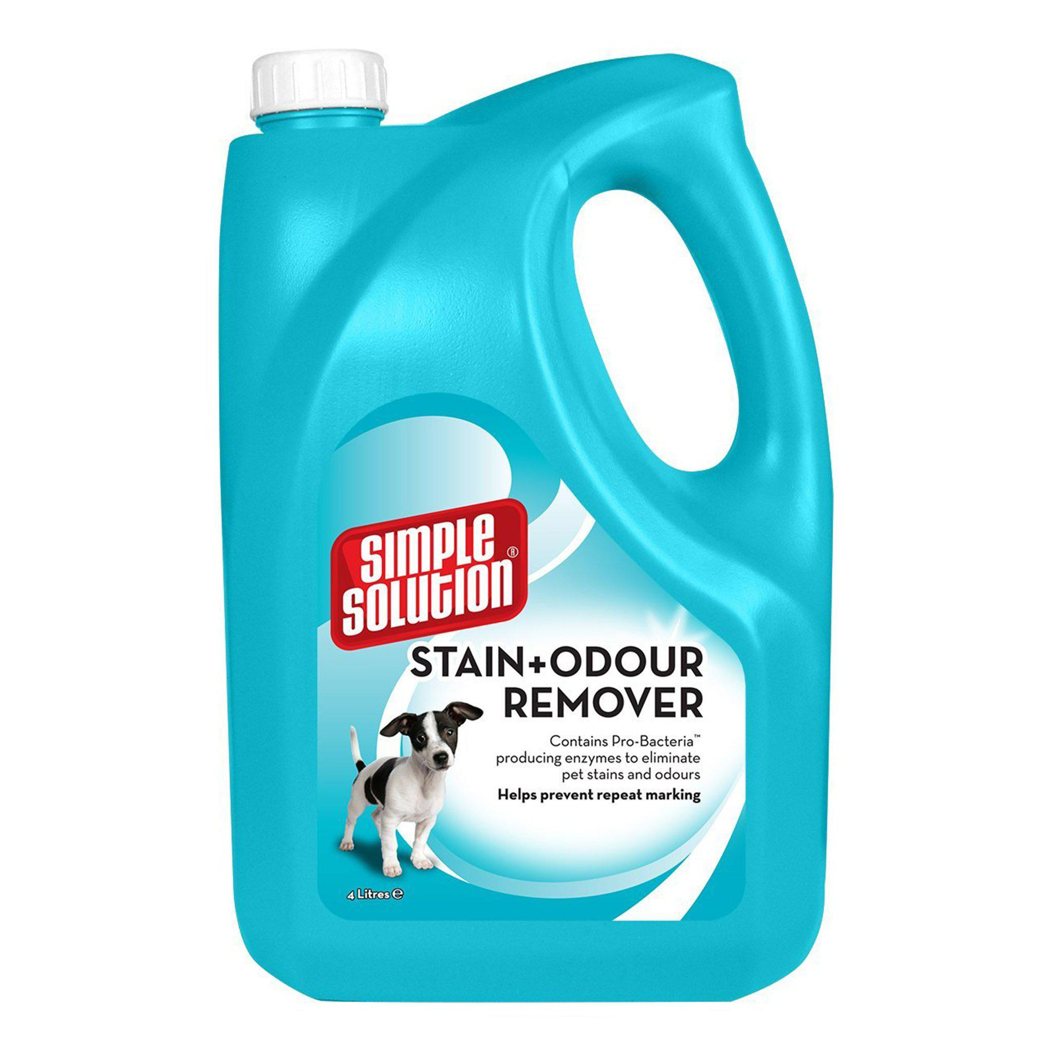 Simple Solution Dog Stain & Odour Remover 4L