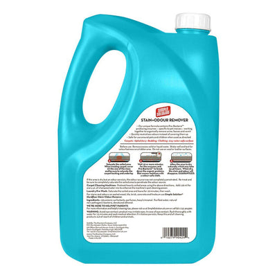 Simple Solution Dog Stain & Odour Remover 4L - ComfyPet Products