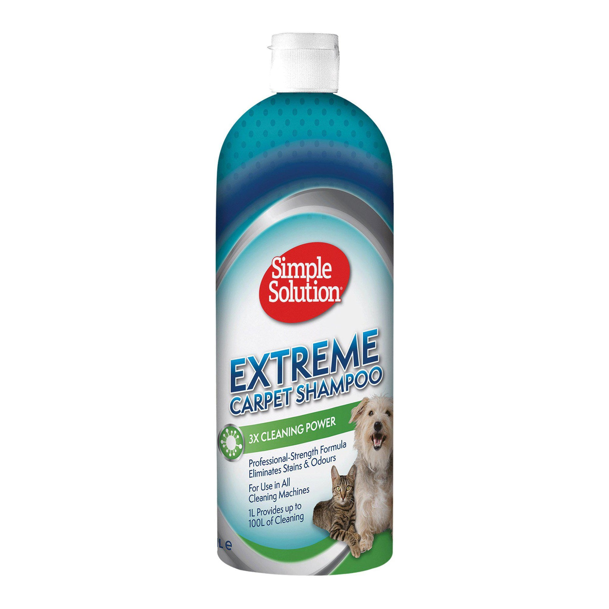 Simple Solution Extreme Carpet Shampoo 1000ml - ComfyPet Products