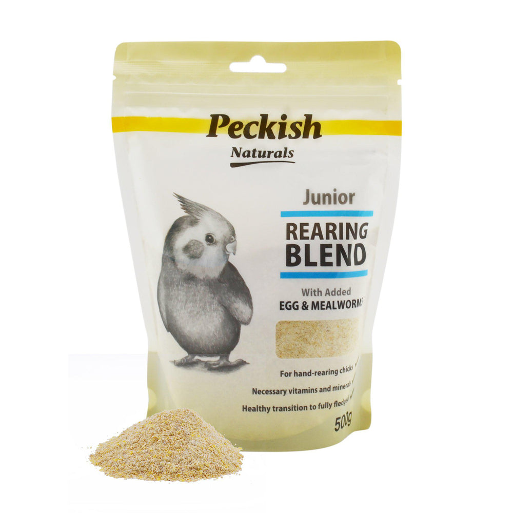 Peckish Naturals Junior Rearing Blend - Egg & Mealworm