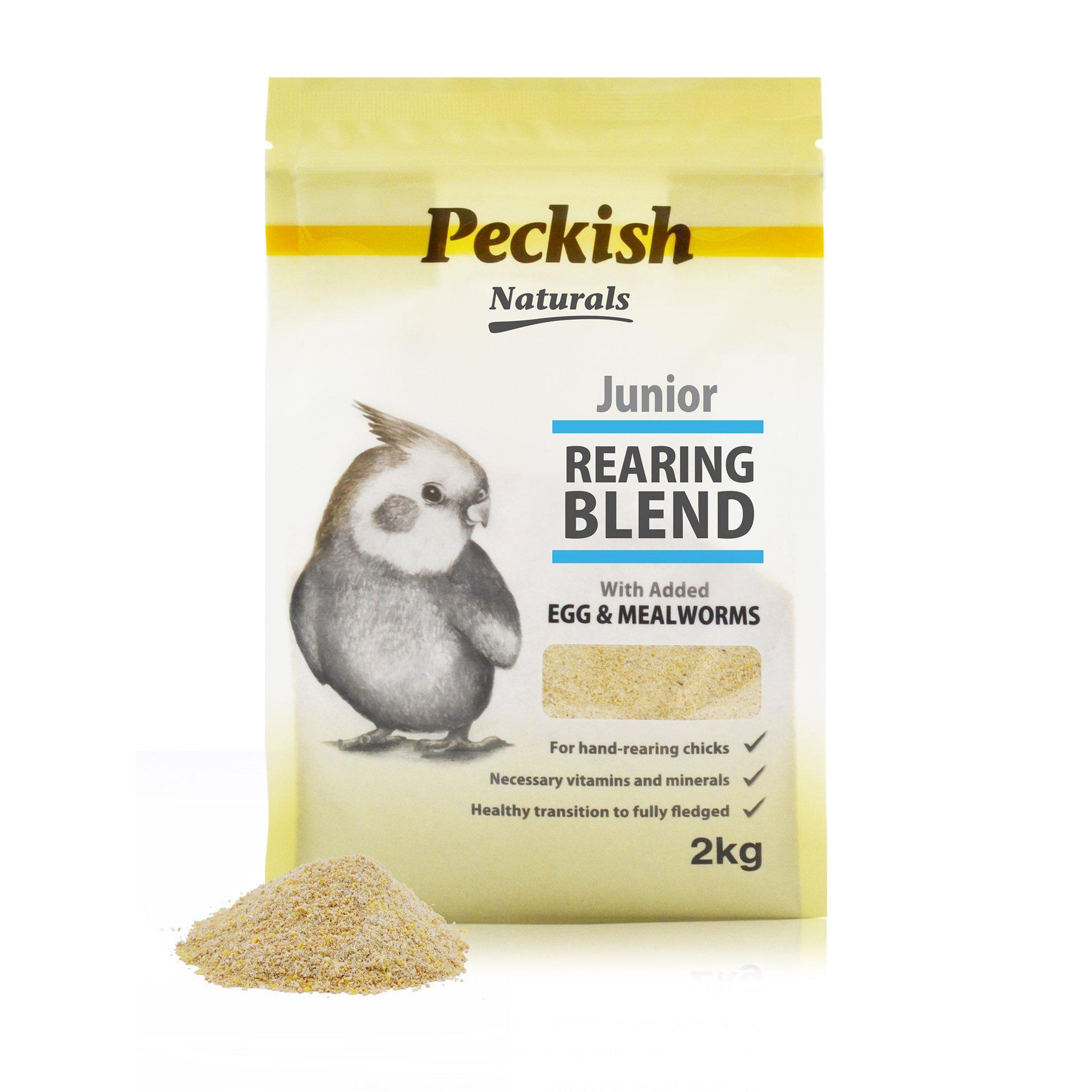 Peckish Naturals Junior Rearing Blend - Egg & Mealworm - ComfyPet Products