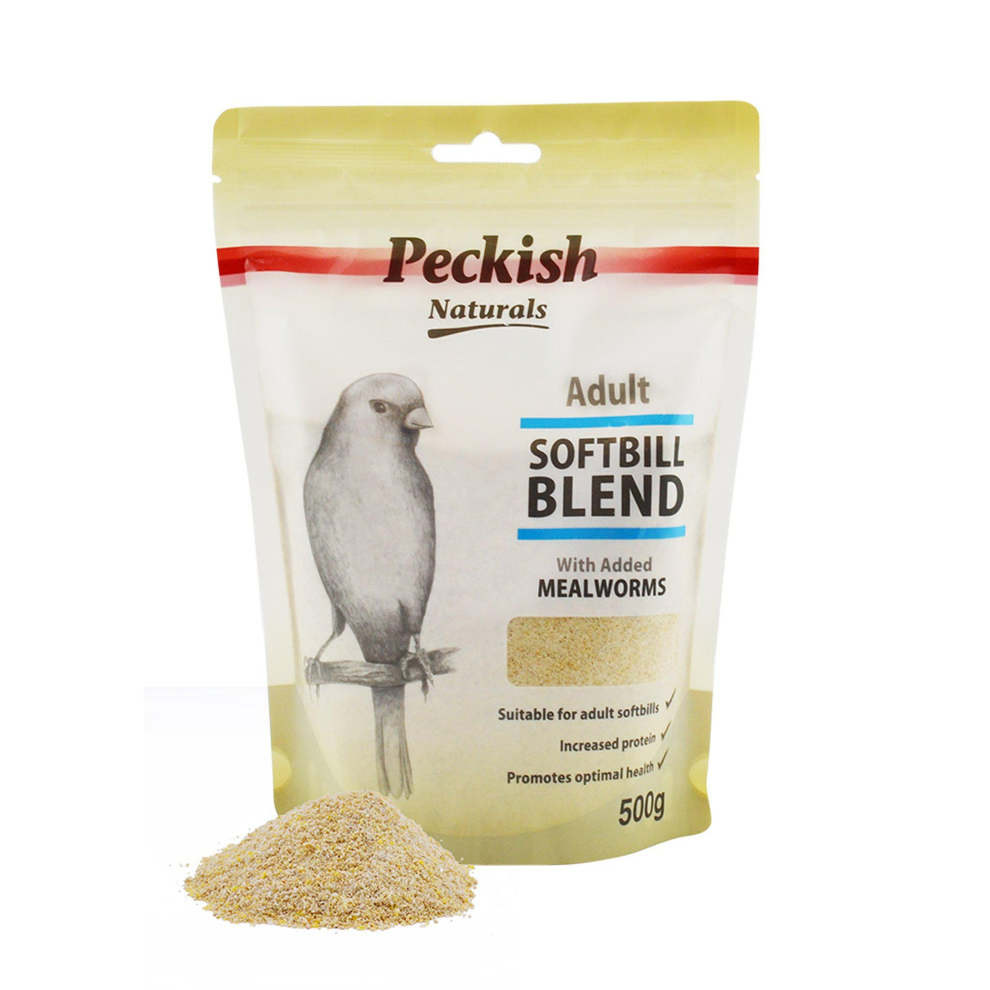 Peckish Naturals Adult Softbill Blend - Mealworm - ComfyPet Products