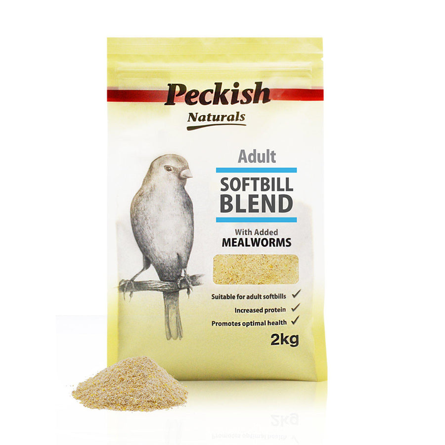 Peckish Naturals Adult Softbill Blend - Mealworm - comfypet