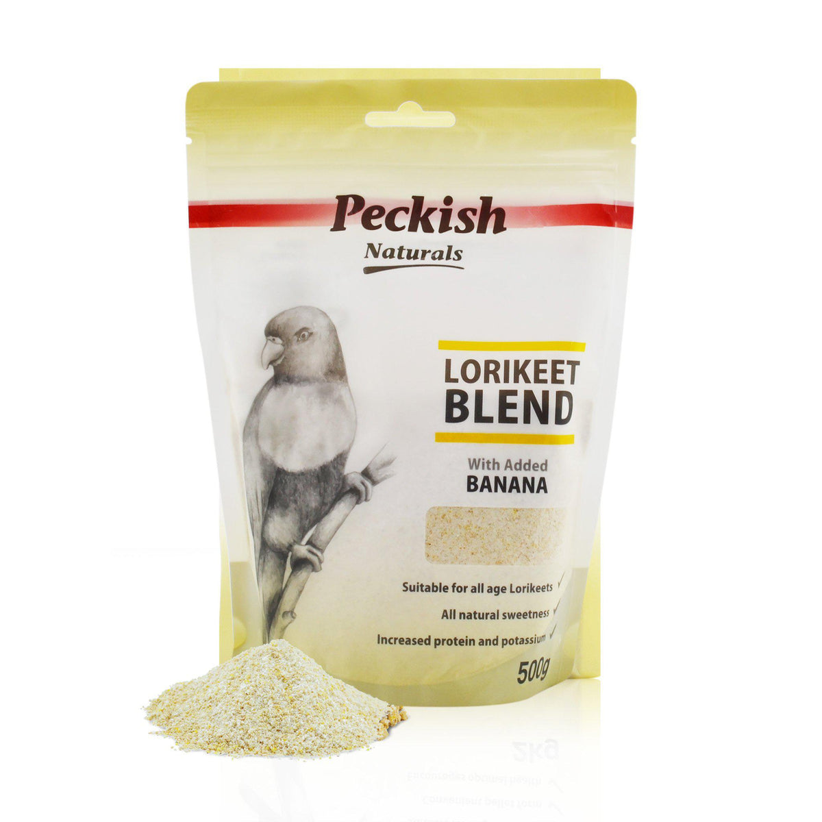 Peckish Naturals Adult Lorikeet Blend - Banana - ComfyPet Products