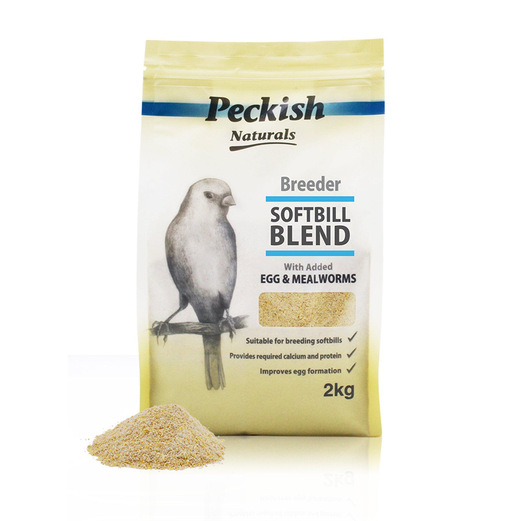 Peckish Naturals Breeder Softbill Blend - Egg & Mealworm - ComfyPet Products