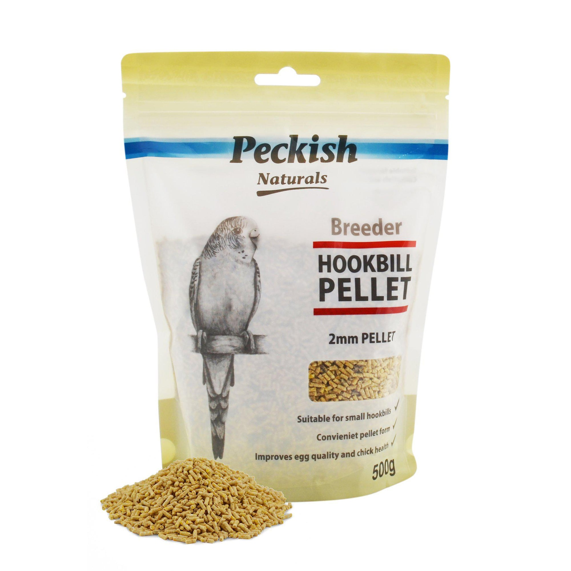 Peckish Naturals Breeder Hookbill 2mm Pellet - Small - ComfyPet Products