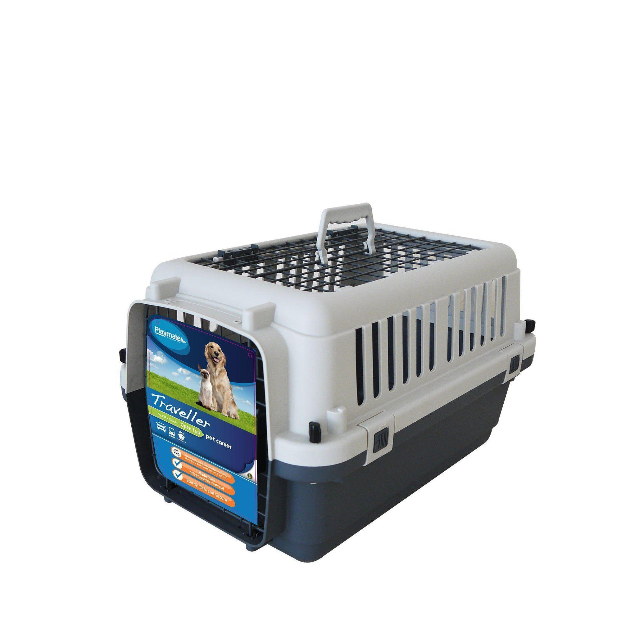 Traveller Pet Carrier (Open Top) - ComfyPet Products