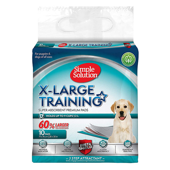 Simple Solution X-Large Training Pads 10 Pack - ComfyPet Products