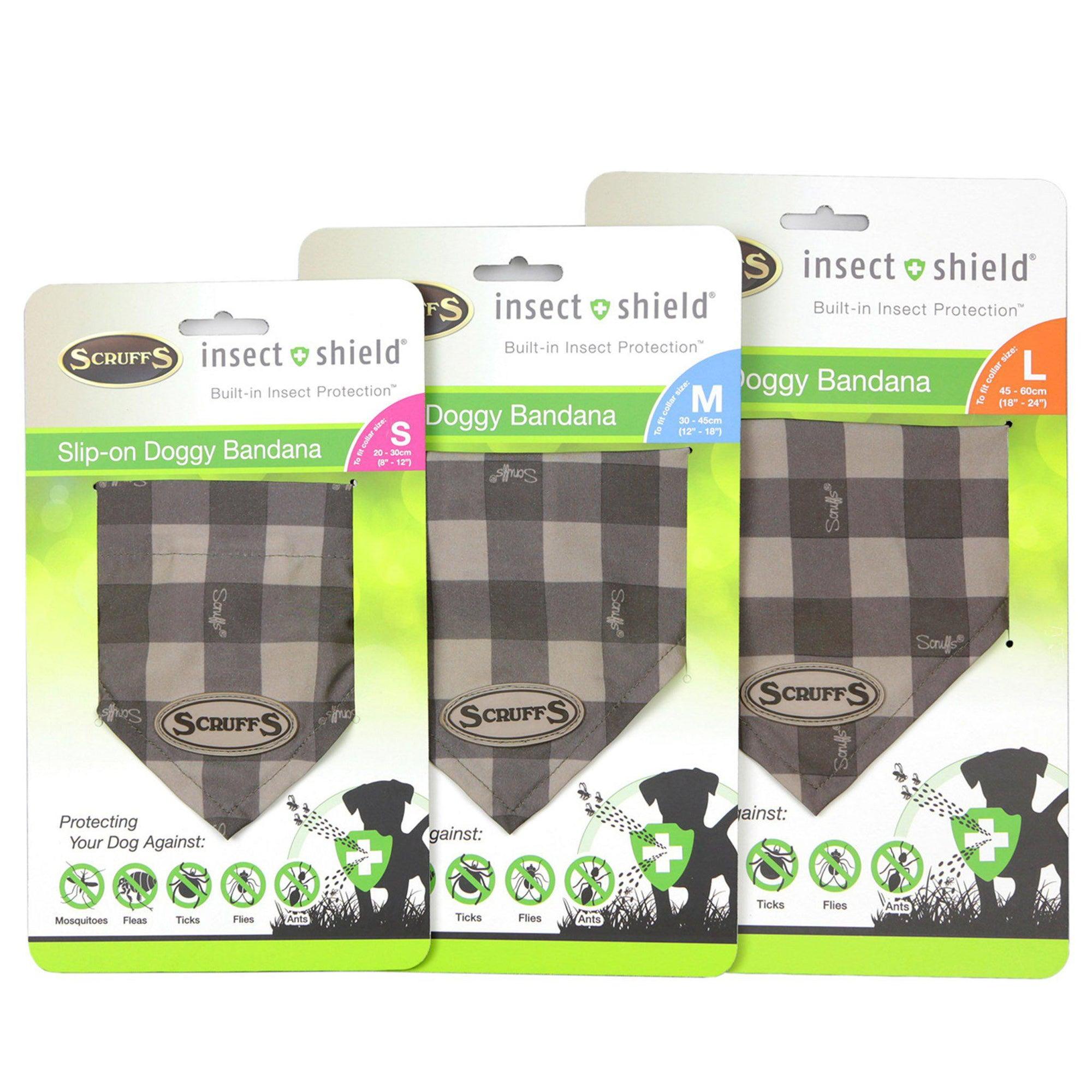 Scruffs - Insect Shield® Bandana's - ComfyPet Products