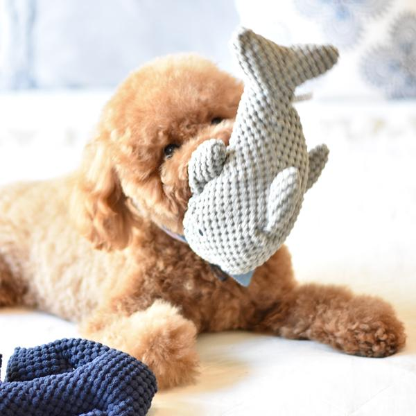 Patchwork Dog Dolphin 10""""