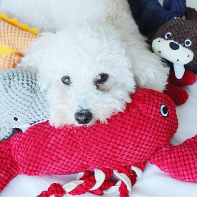 Patchwork Dog Lobster 15""