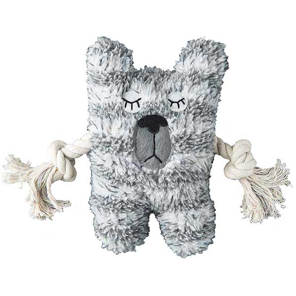 Patchwork Dog Bear Greybar 6""