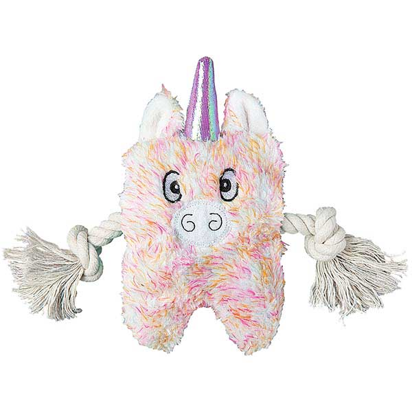 Patchwork Dog Unicorn Greybar 6""