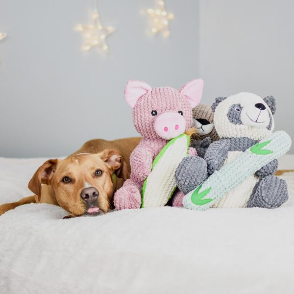 Patchwork Dog Maizey the Pig 10""