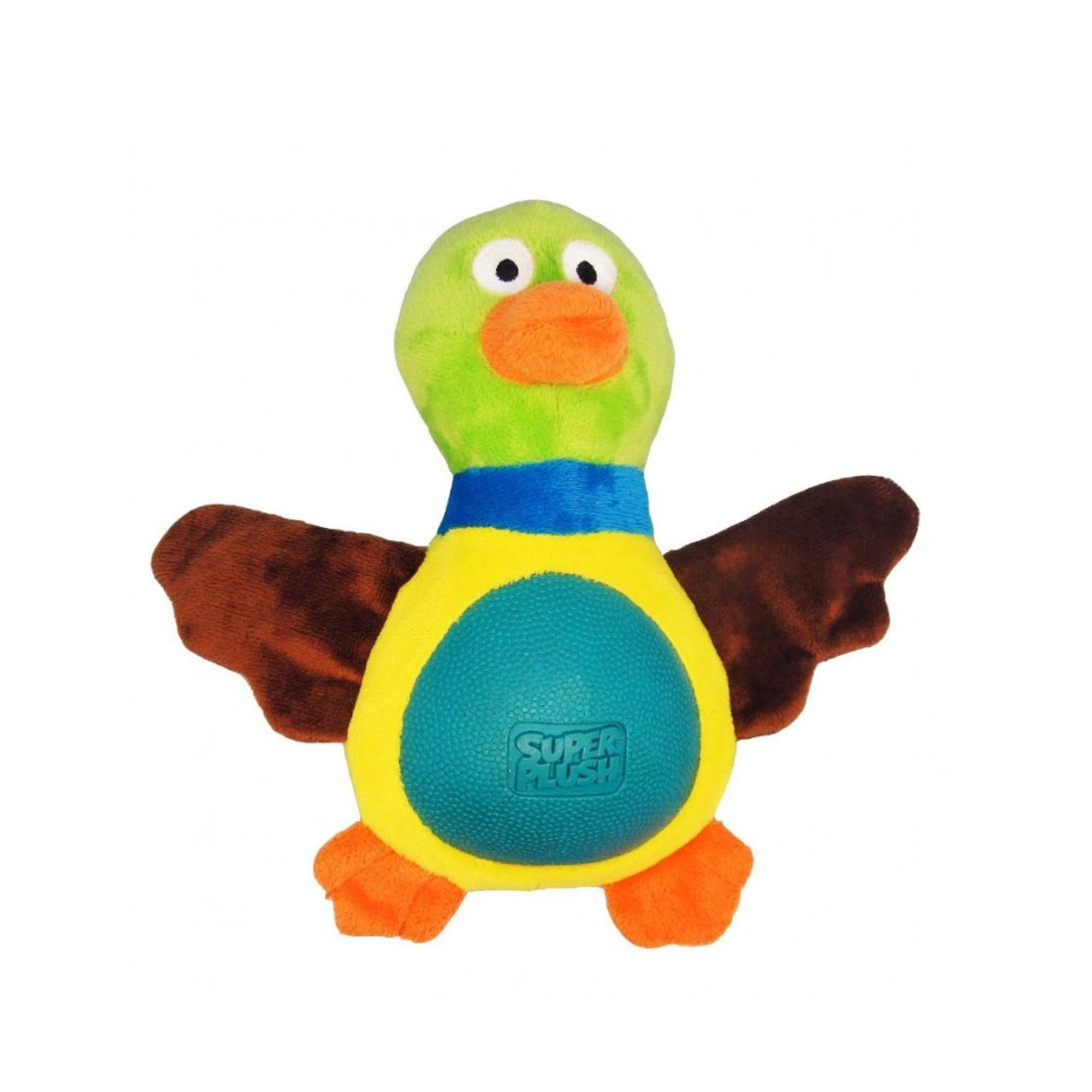R2P Multi Tex - Fat Plush Duck - ComfyPet Products
