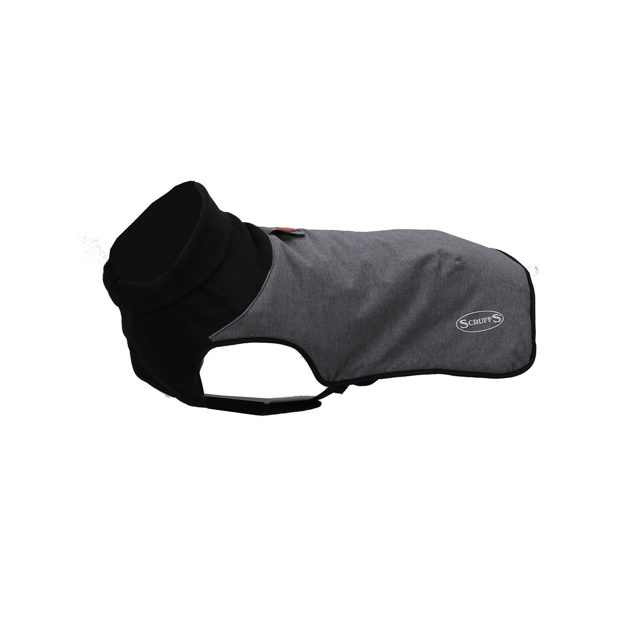 Scruffs Thermal Dog Coat - Cajun Grey - comfypet
