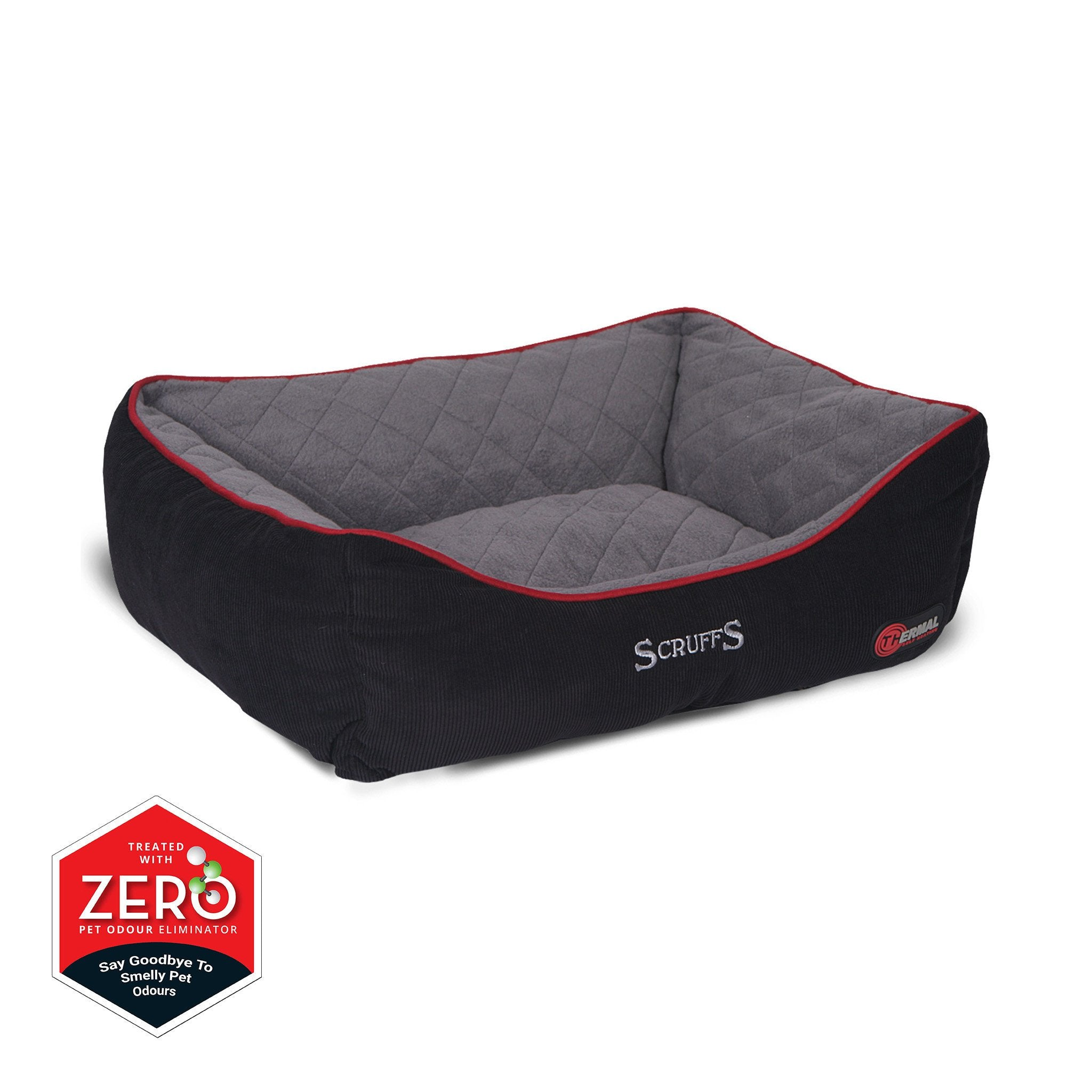 inch bed beds foam medium with dog memory elevated orthopedic pin removable stella cover