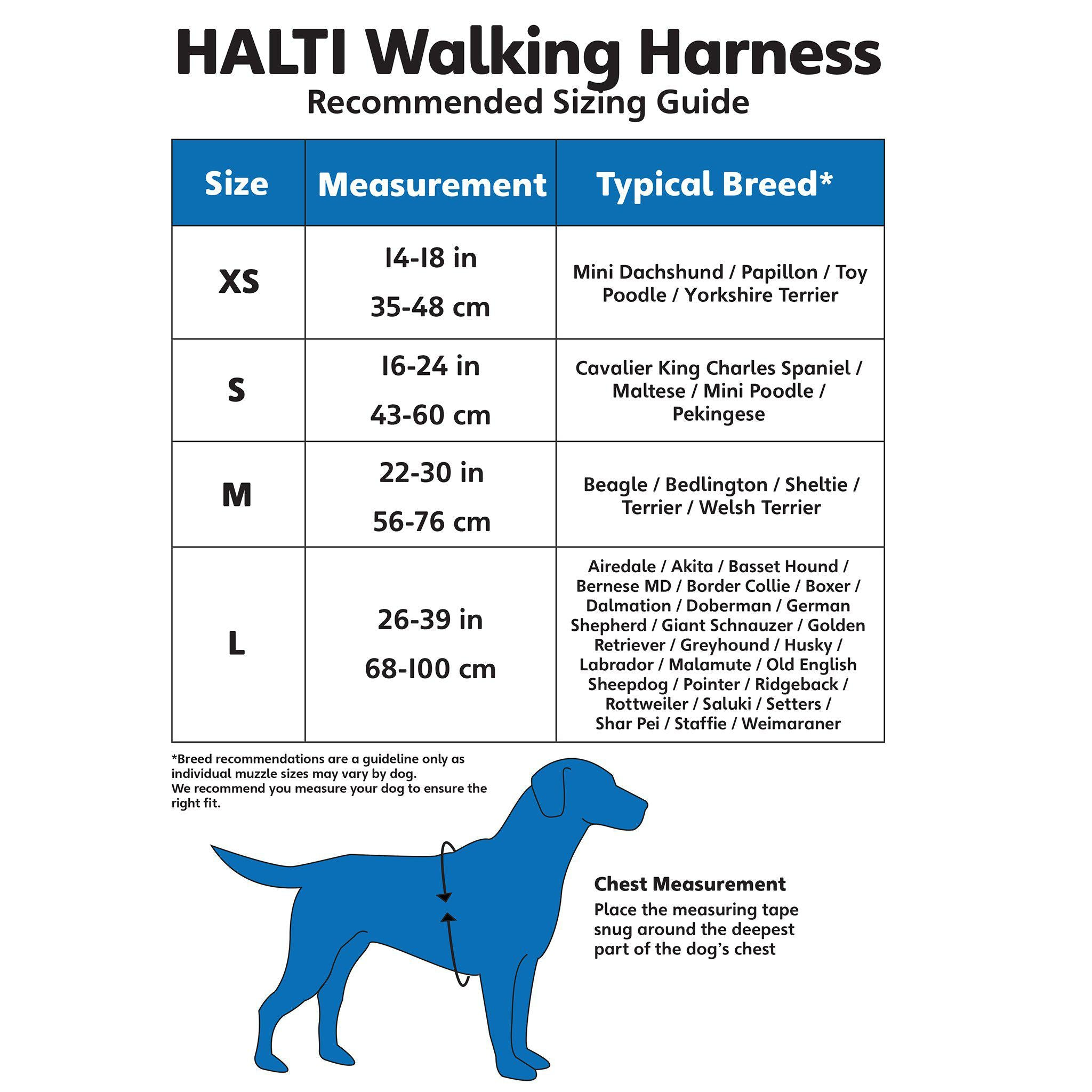 HALTI Walking Harness - comfypet