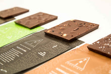 Load image into Gallery viewer, Our full line of 70% chocolate bars