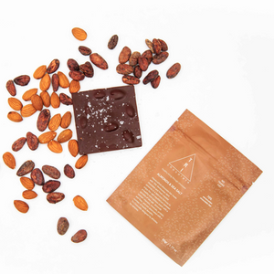 Almond and Sea Salt Chocolate Bar