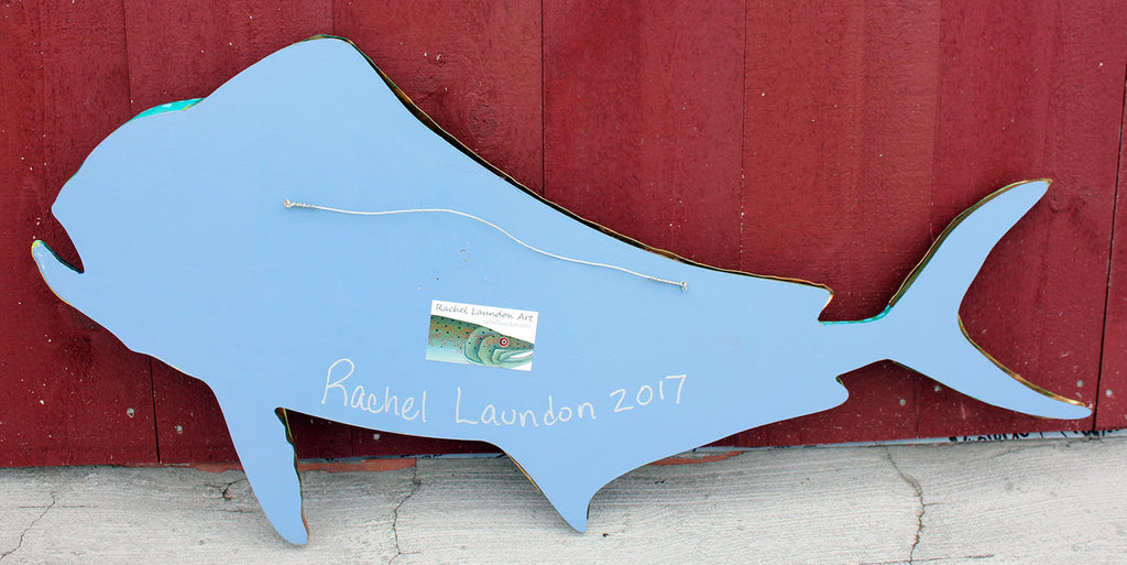 Large Dolphin Fish Wall Art, 37""