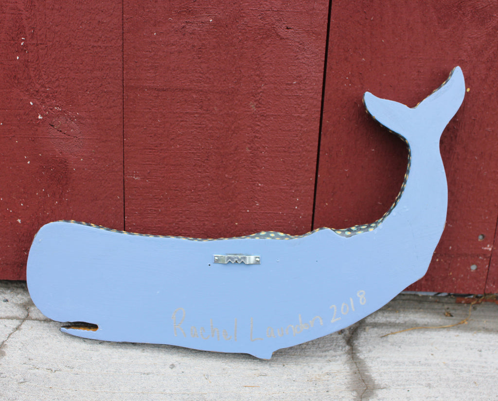 "Stan, 17"" Sperm Whale Wall Art"