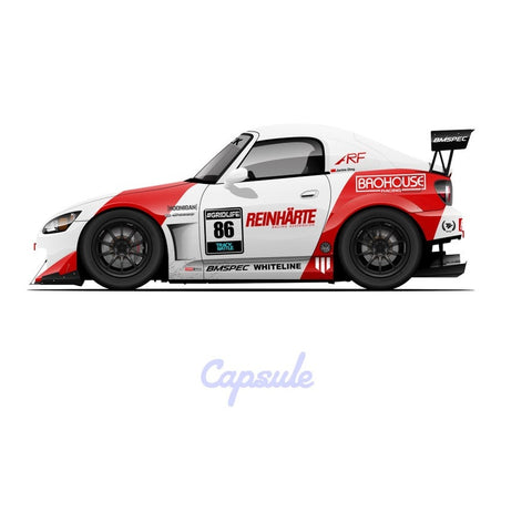 JD86 S2000 Capsule Sticker