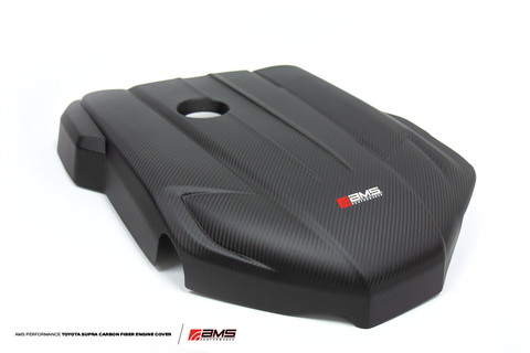 AMS Performance A90 Supra Carbon Fiber Engine Cover