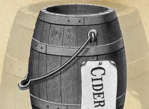 Aged Oak Barrel Cider Bubbling Scrub