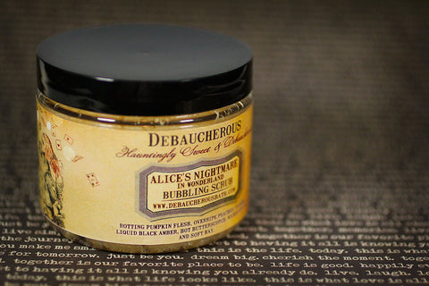 Alice's Nightmare in Wonderland Bubbling Scrub - Debaucherous Bath