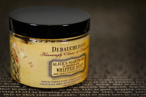 Alice's Nightmare in Wonderland Whipped Soap - Debaucherous Bath