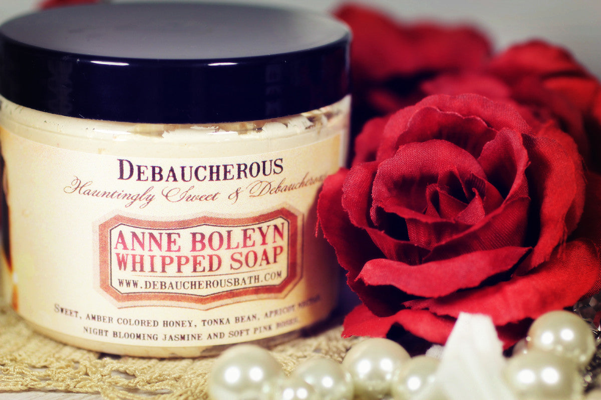 Anne Boleyn Whipped Soap - Debaucherous Bath