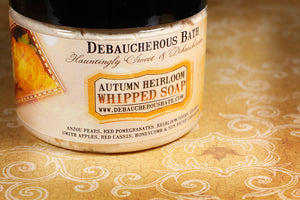 Autumn Heirloom Whipped Soap