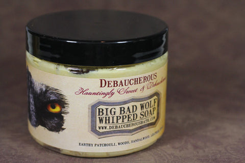 Big Bad Wolf Whipped Soap - Debaucherous Bath